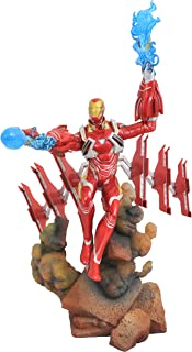 DIAMOND SELECT TOYS Marvel Gallery: Avengers Infinity War: Iron Man Mk50 PVC Diorama Figure