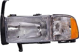 Dorman 1590404 Driver Side Headlight Assembly For Select Dodge Models