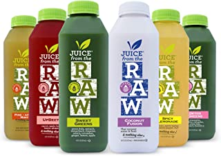 3-Day Juice Cleanse with Coconut Fusion by Juice From the RAW® - Most Popular Juice Cleanse to Lose Weight Quickly / Detox...