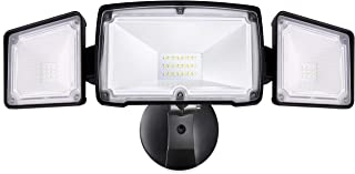 Amico 3500LM LED Security Lights Outdoor, 30W 5000K Super Bright Outdoor Flood Light, 3..