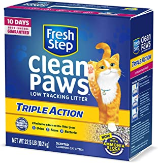 Fresh Step Scented Clean Paws Triple Action Clumping Cat Litter