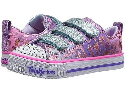SKECHERS KIDS Twinkle Toes Twinkle Lite 20301L (Little Kid/Big Kid) (Multi) Girl