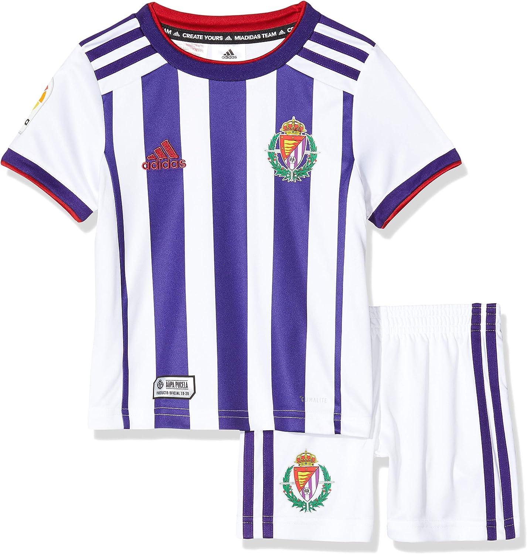 Minikit oficial 1ª equipación del Real Valladolid C.F. Temporada 2019/2020