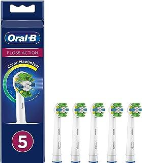 Oral-B Dieptereiniging opzetborstels met CleanMaximiser-borstelharen voor diepe interdentale reiniging, 5 stuks