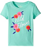 Kate Spade New York Kids - Wildflower Tee (Toddler/Little Kids)