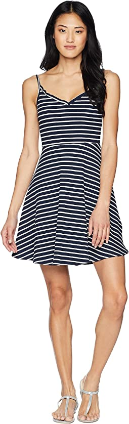 Stripe Knit Sun Dress