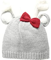 Deer Bow Knitted Hat (Infant)