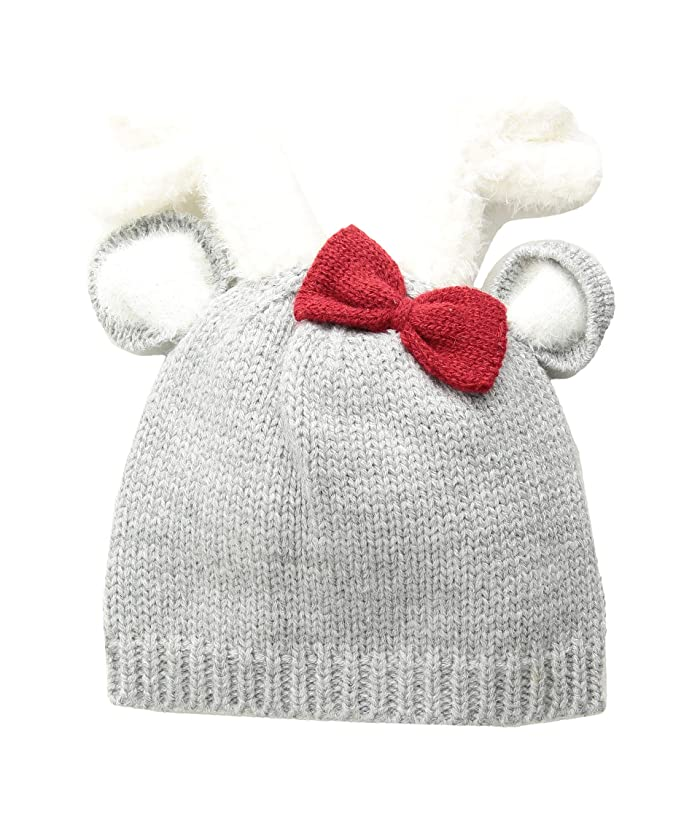 7502e92dc Mud Pie Deer Bow Knitted Hat (Infant) at 6pm