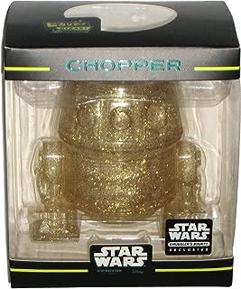 Funko Hikari Minis Gold Glitter Chopper Droid Star Wars Rebels Smuggler's Bounty March 2017 Exclusive Vinyl Figure