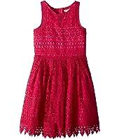 Crochet Lace/Eyelet Dress (Little Kids/Big Kids)