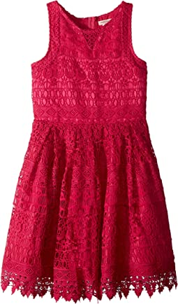 Crochet Lace/Eyelet Dress (Little Kids/Big Kids)