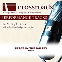 Peace In The Valley (Performance Track Low with Background Vocals in B)