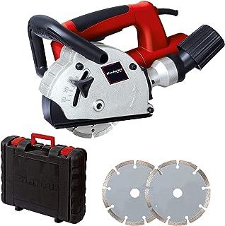 comprar comparacion Einhell TC-MA 1300 -Rozadora (diámetro de disco 125 mm, 9000 rpm, 1320 W, 230 V), color rojo y negro (ref. 4350730)