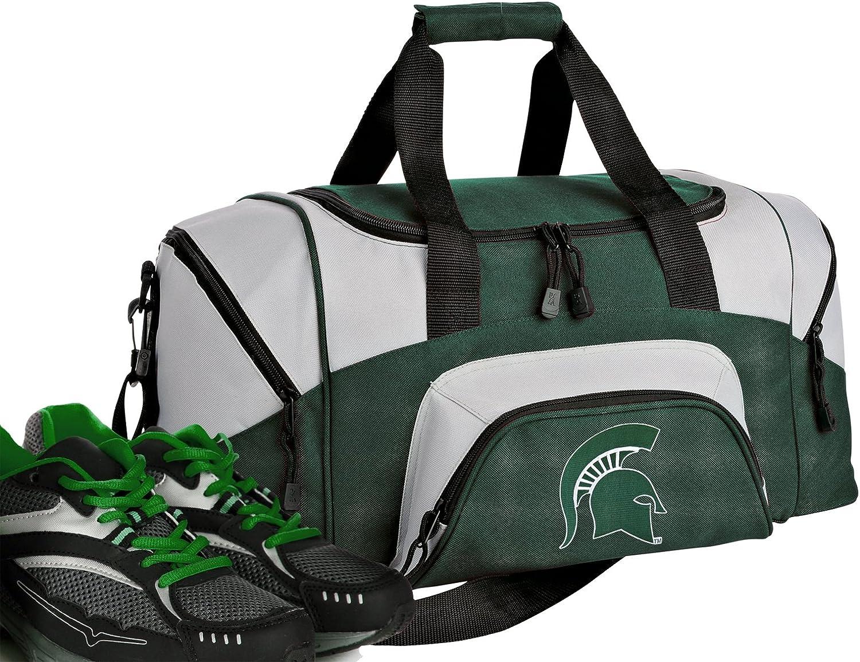 SMALL Michigan State Duffle Overseas Cheap mail order sales parallel import regular item Gym Bag University Ba