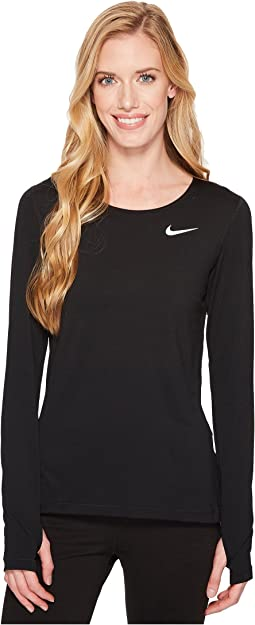Nike Pro Mesh Long Sleeve Training Top