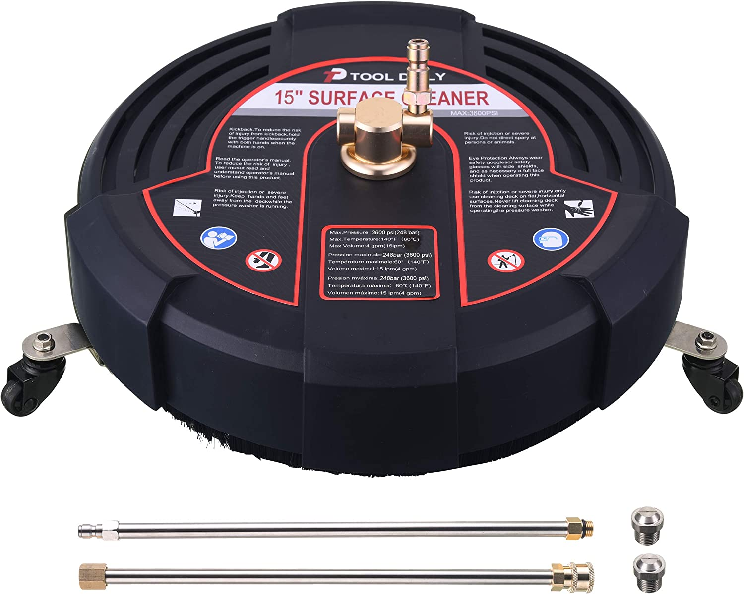 Tool Daily 15 Inch Pressure Attachment Surface Washer wi Choice Cleaner Atlanta Mall