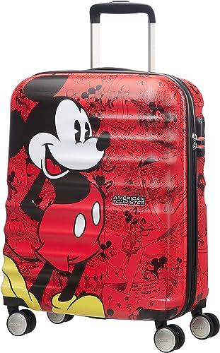 American Tourister - Disney Wavebreaker Spinner 55/20 2.6 KG Bagage enfant, 55 cm, 36 liters, Multicolore (Mickey Com...