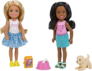 Barbie Club Chelsea Pet Doll, 2 Pack