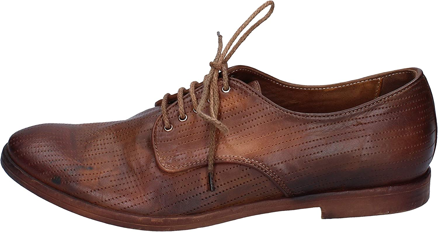ROBERTO BOTTICELLI NEWS Oxfords-Shoes Mens Leather Brown