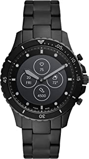 Men's FB Fossil Blue Hybrid Smartwatch HR with Always-On Readout Display, Heart Rate, Activity Tracking, Smartphone Notifications, Message Previews