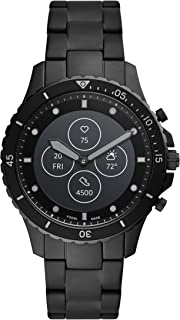 Hybrid Smartwatch HR with Always-On Readout Display, Heart Rate, Activity Tracking, Smartphone Notifications, Message Previews