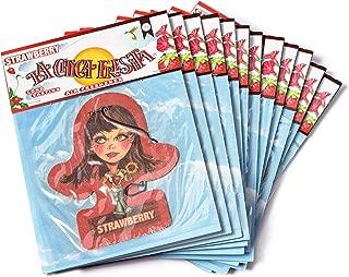 La chica V Spec (R) Original Body Edition Fresita, Automotive Air Freshener, Strawberry, 12 Piece