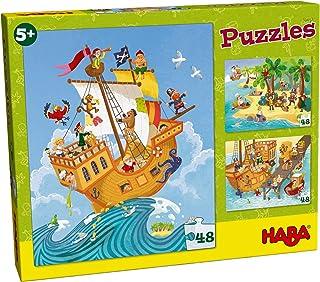 HABA Puzzles Pirate Scene, Multicolor
