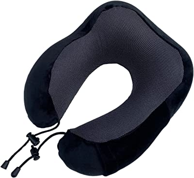 Travel Pillows Memory Foam Neck Pillows Support Pillows Comfortable and Breathable Can be Used for Airplanes Cars Sleep Rest and Family Use