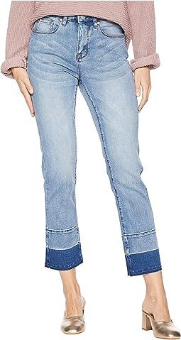 Five-Pocket Crop Pants