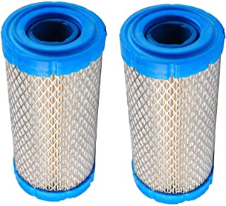 M123378 Air Filter for Exmark 93-2195 M113621 with Pre Filter Briggs & Stratton 820263 Kohler 25 083 02 25 083 02-S CH25 CH26 TH16 Onan 1403071 Oregon 30-708 (Pack of 2)