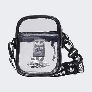 Unisex Clear Festival Crossbody Bag, Black, ONE SIZE
