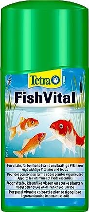 Tetra Pond Aquafit (Vital de Kur para naturgerechte Relaciones de Agua para Peces, Plantas y microorganismos en el jardín Estanque), Botella de 250ml