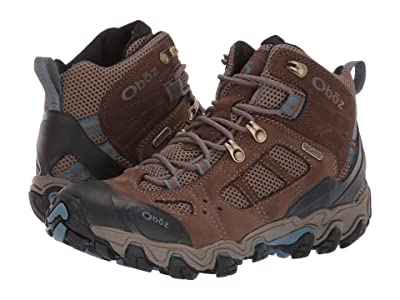 Oboz Bridger Vent Mid B-Dry (Brindle/Tradewinds Blue) Women