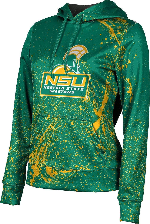 ProSphere Norfolk State University Girls' Pullover Hoodie, School Spirit Sweatshirt (Splatter)