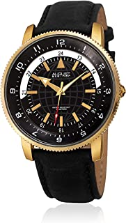August Steiner Men's Quartz Watch, Analog Display And Leather Strap