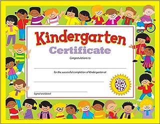graduation certificate kindergarten