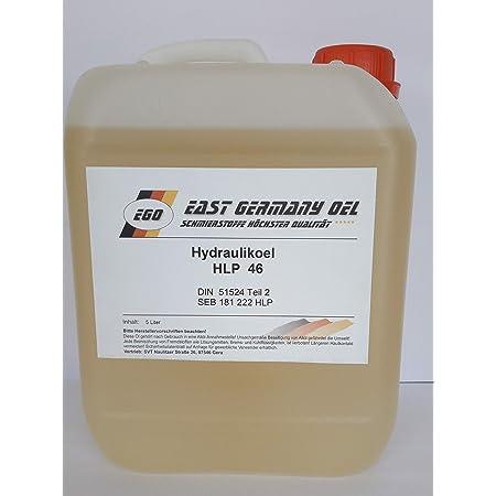 Hydrauliköl Hlp 46 Kanister 5 Liter Inhalt Gewerbe Industrie Wissenschaft