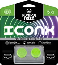 KontrolFreek Icon X CQC Signature Edition for Xbox One Controller | 2 Performance Thumbsticks | 2 Mid-Rise | Green