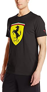PUMA Men's Scuderia Ferrari Big Shield T-Shirt