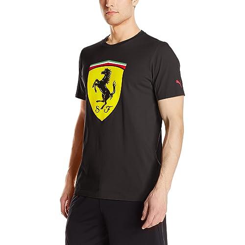 0ca88105f5ea3b PUMA Men's Scuderia Ferrari Big Shield T-Shirt