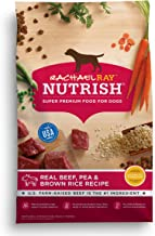 Rachael Ray Nutrish Super Premium Dry Dog Food with Real Meat & Brown Rice