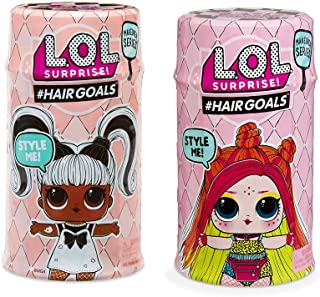 L.O.L. Surprise!! #Hairgoals Makeover Series 1 and Series 2 with 15 Surprises- 2 Pack