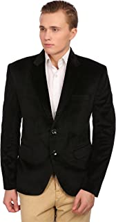 WINTAGE Men's Velvet Grandad Collar Ceremony Blazer - Seven Colors…