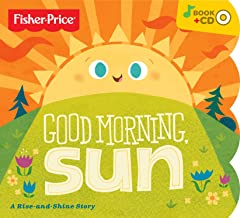 Fisher-Price Good Morning Sun Board Book With Bonus Music CD