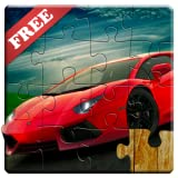 Sports Cars Jigsaw Puzzles for Kids - Free Trial Edition - Fun and Educational Super Cars Puzzle Game for Adults and Kids, Preschool Toddlers, Boys and Girls 2, 3, 4, or 5 Years Old