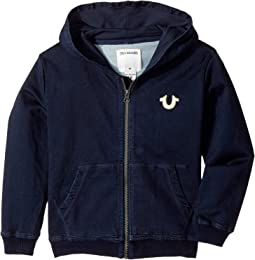 French Terry Hoodie (Toddler/Little Kids)