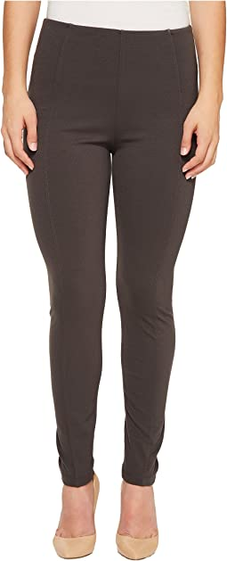 Liverpool - Petite Reece Slimming Waist Panel Leggings in Super Stretch Ponte Knit