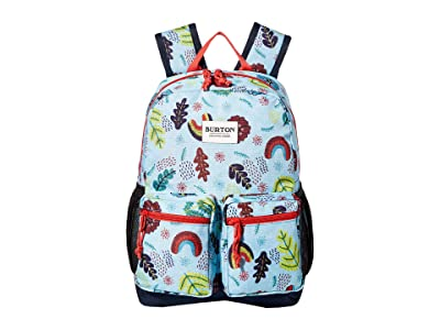 Burton Kids Gromlet 15L Backpack (Little Kids/Big Kids) (Embroidered Floral Print) Backpack Bags