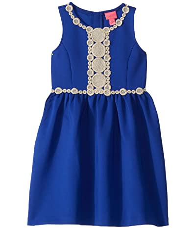 Lilly Pulitzer Kids Baylee Dress (Toddler/Little Kids/Big Kids) (Lapis Lazuli) Girl