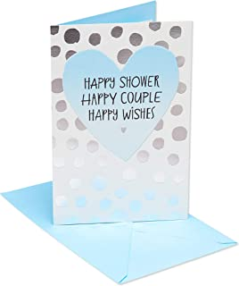 American Greetings Bridal Shower Card (Happy Forever)